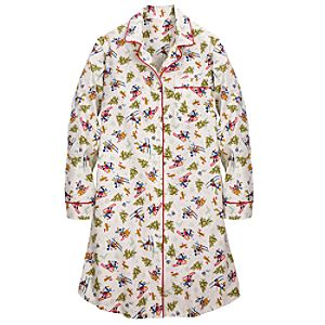 Skiing Minnie and Mickey Mouse Nightshirt