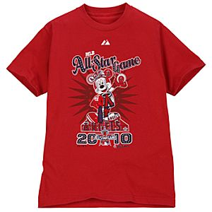 Fitted All-Star Game Los Angeles Angels Mickey Mouse Tee for Adults