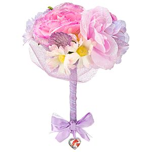 Heart-shaped Jewel Ariel Bouquet