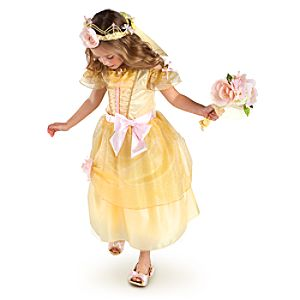 Heart-shaped Jewel Belle Costume