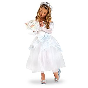 Heart-shaped Jewel Wedding Cinderella Costume for Girls
