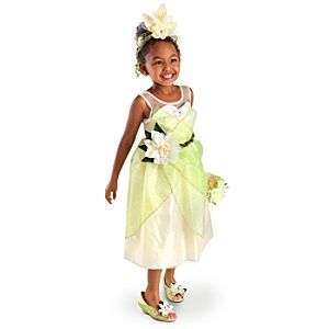 Heart-shaped Jewel Tiana Costume