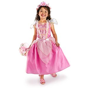 Heart-shaped Jewel Sleeping Beauty Costume