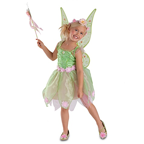 Heart-shaped Jewel Tinker Bell Costume