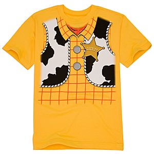 Toy Story 3 Woody Costume Tee for Boys -- Made With Organic Cotton