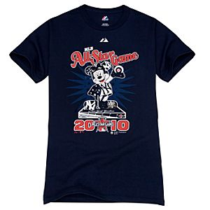 Fitted All-Star Game New York Yankees Mickey Mouse Tee for Adults