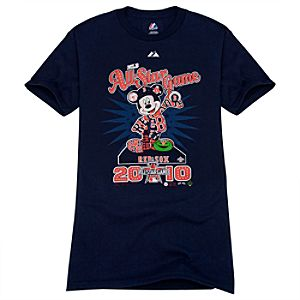 Fitted All-Star Game Boston Red Sox Mickey Mouse Tee for Adults