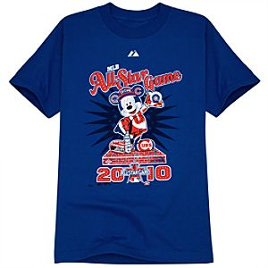 Fitted All-Star Game Chicago Cubs Mickey Mouse Tee for Adults