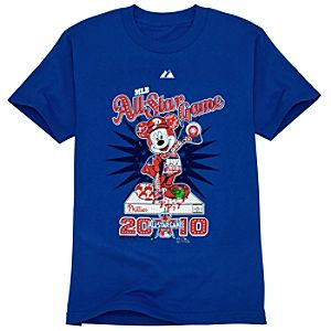 Fitted All-Star Game Philadelphia Phillies Mickey Mouse Tee for Adults