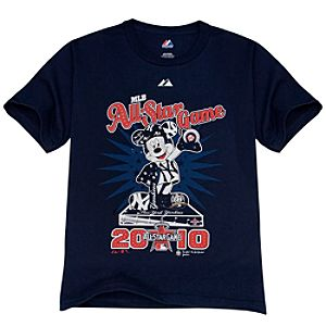 All-Star Game New York Yankees Mickey Mouse Tee for Kids