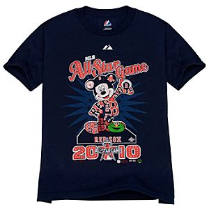 All-Star Game Boston Red Sox Mickey Mouse Tee for Kids