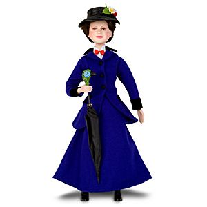 Mary Poppins: The Broadway Musical -- Collectible Mary Poppins Doll