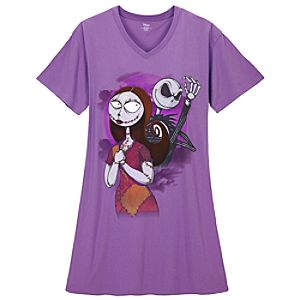 Sally and Jack Skellington Sleepshirt