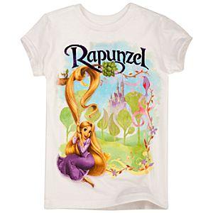 Organic Foil Tangled Rapunzel Tee