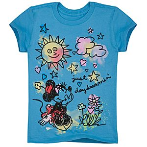 Organic Daydreaming Minnie Mouse Tee