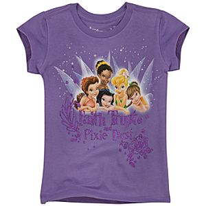 Organic Faith, Trust and Pixie Dust Disney Fairies Tee