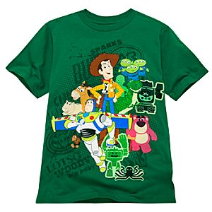 Organic Green Toy Story 3 Tee