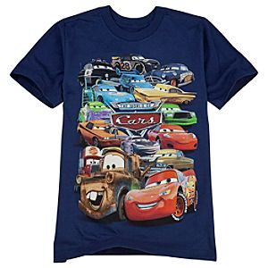 Organic World of Cars Tee
