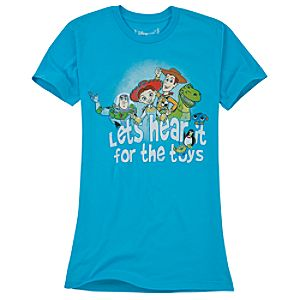 Organic Lets Hear it for the Toys Toy Story Tee