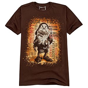 Organic Dude with Tude Grumpy Tee