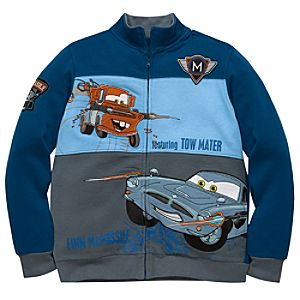 Mater and Finn McMissile Cars 2 Zip Fleece for Boys