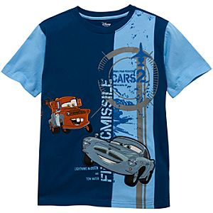Cars 2 Finn McMissile and Tow Mater Tee for Boys