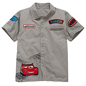 Mechanic Cars 2 Team Lightning McQueen Shirt for Boys