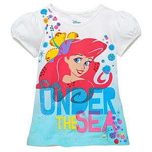 Knit Little Mermaid Top for Girls