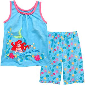 Tank Style Ariel PJ Set for Girls
