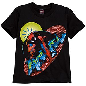 Graffiti Spider-Man Tee