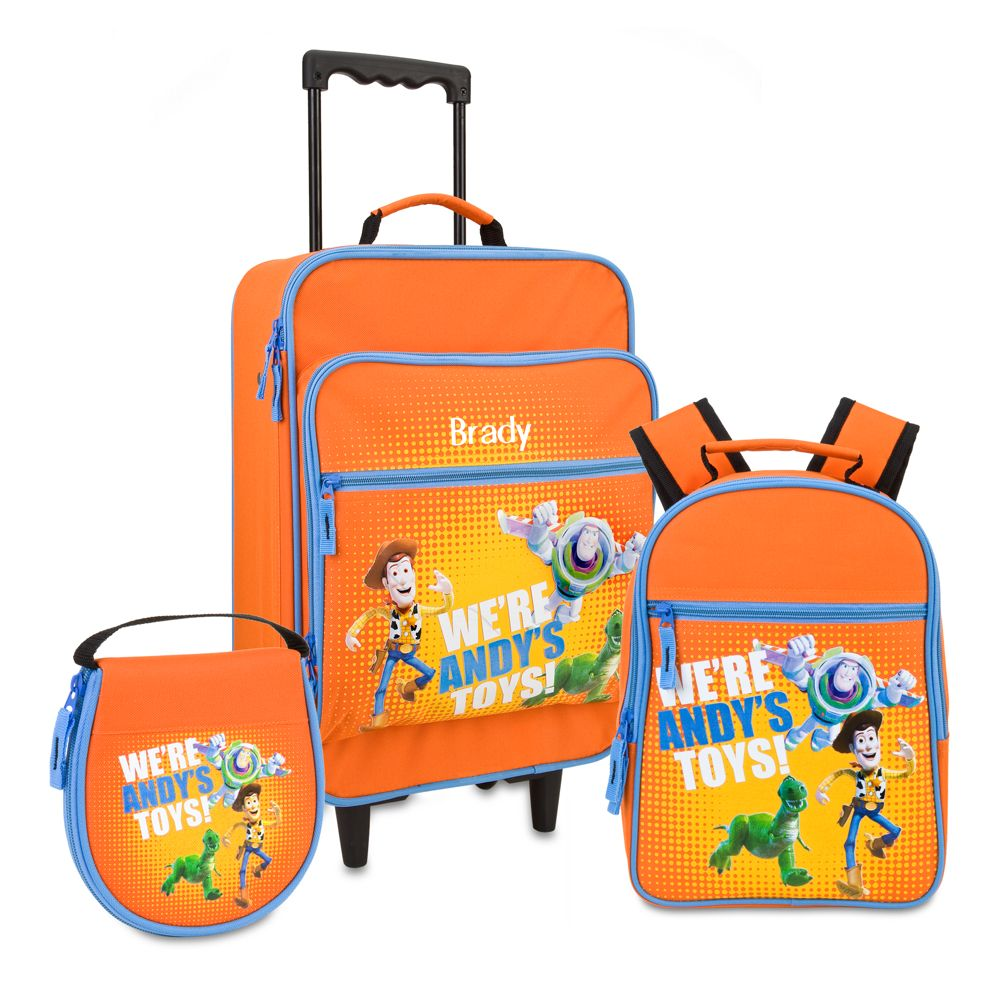 Personalized Toy Story Luggage Set -- 3-Pc.