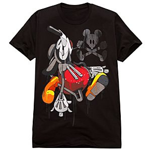Acid Drip Mickey Mouse BLOC28 Tee