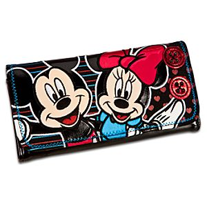 Minnie and Mickey Mouse Wallet