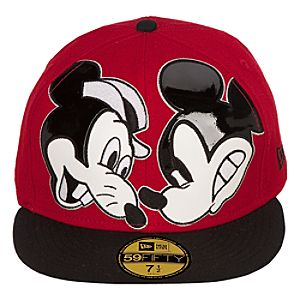 Mens Fitted Mickeys Rival Mickey Mouse Hat