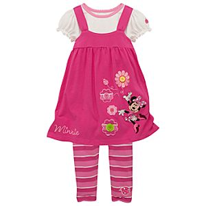 Minnie Mouse Dress Set for Toddlers -- 3-Pc.