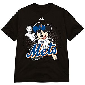 Disney Fitted New York Mets Mickey Mouse Tee
