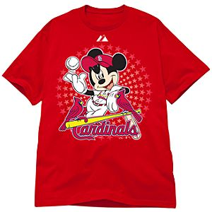 Disney St. Louis Cardinals Mickey Mouse Tee
