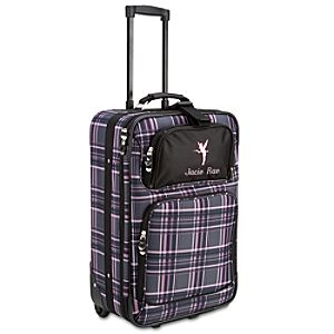 Personalized Rolling Tinker Bell Carry On Luggage -- 22
