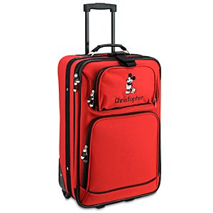 Personalized Rolling Mickey Mouse Carry On Luggage -- 22