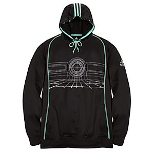 Adidas Good Guys TRON Hoodie in Acqua