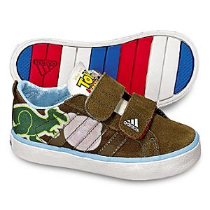 Adidas Brown Toy Story 3 Sneakers for Toddler Boys