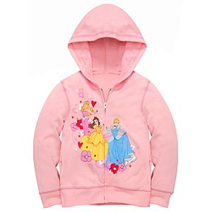 Hoodie Disney Princess Jacket for Girls