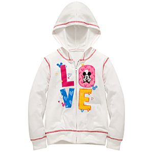 Love Mickey Mouse Hoodie