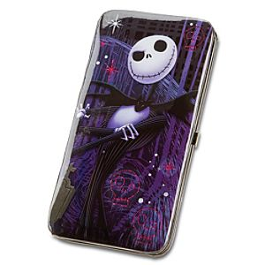 Pink Skulls and Jack Skellington Wallet