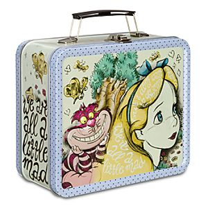 Alice in Wonderland Tin Tote