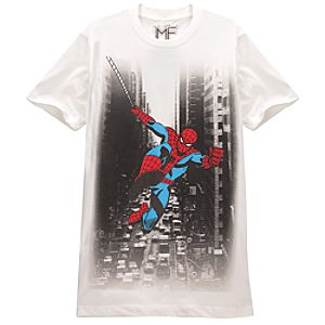 Cityscape Mens Spider-Man Tee