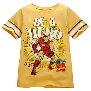 Be a Hero Iron Man Tee