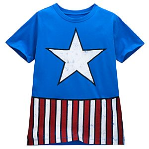 Outfit Captain America Tee for Kids
