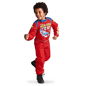 Lightning McQueen Cars 2 Costume for Boys