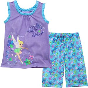 Tank Style Tinker Bell PJ Set for Girls